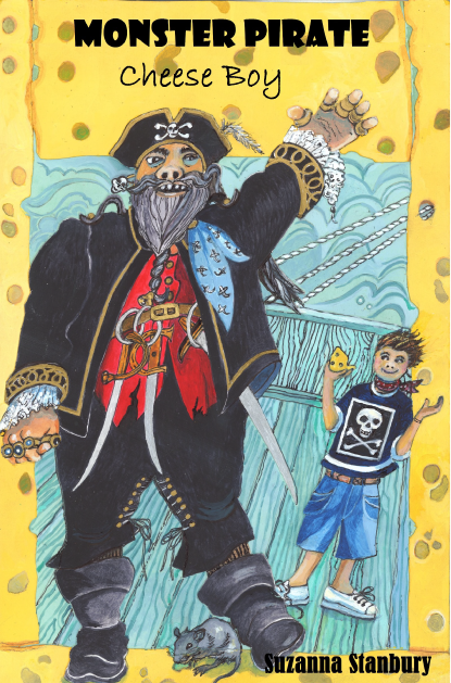 Monster Pirate Cheese Boy